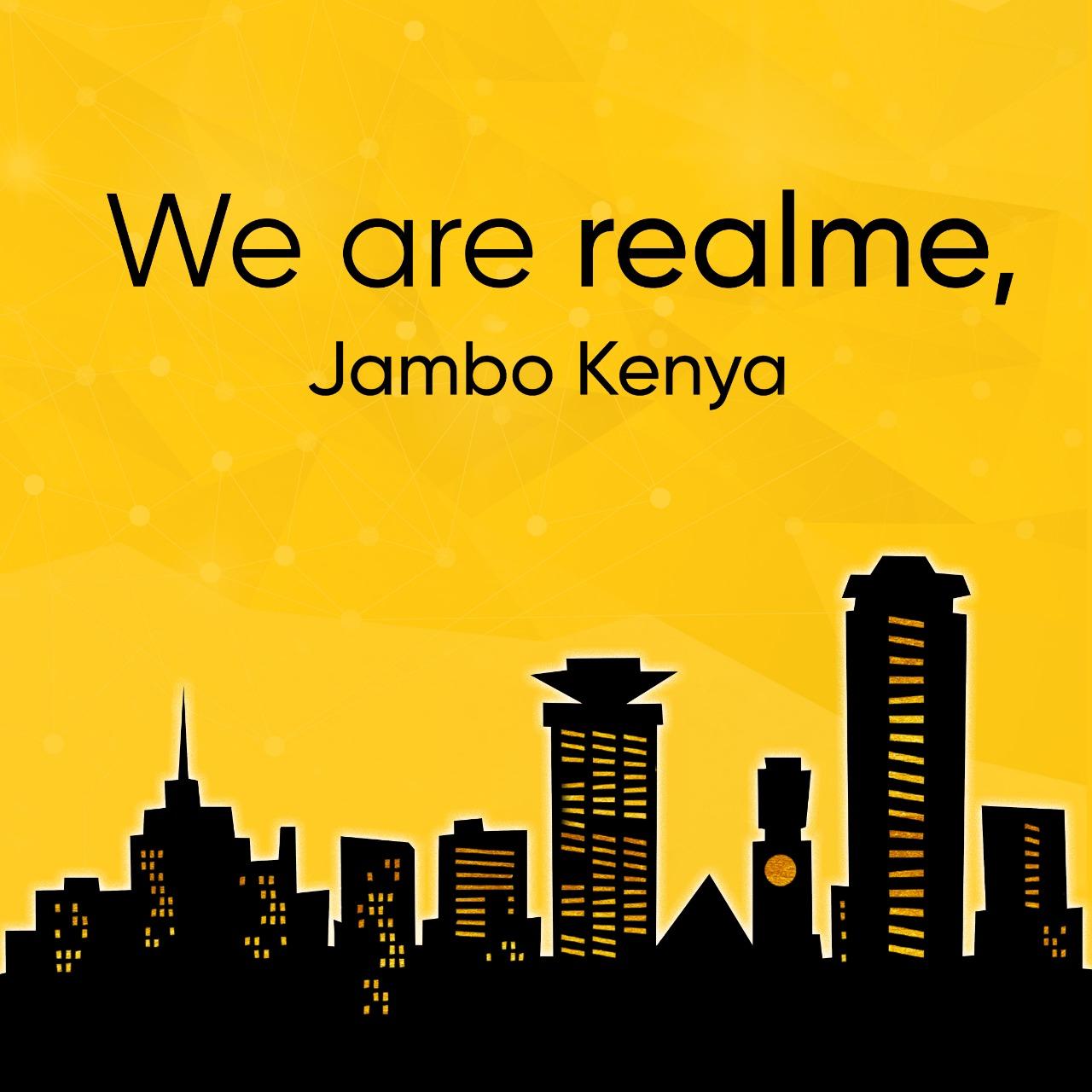 New smartphone brand Realme enters Kenyan Market