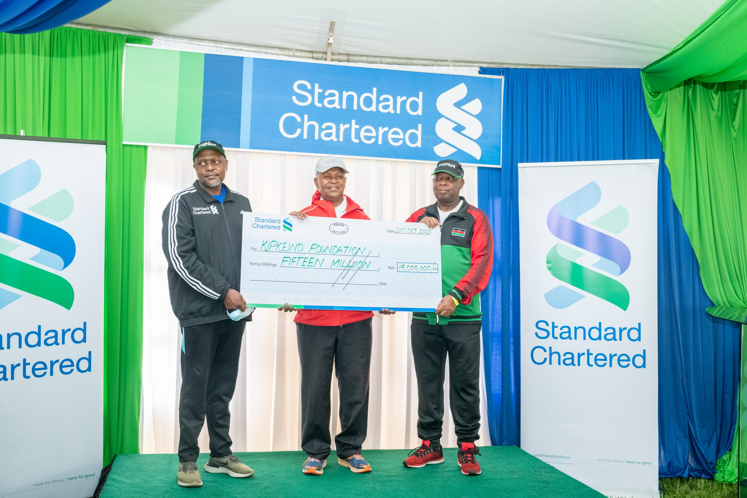StanChart, Kipchoge Keino Foundation to support athletes against effects of COVID-19