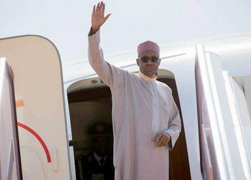 President Buhari Flies To London For Medical Reasons