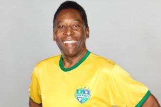 Pele arrives in Nigeria