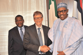 Gates and Buhari