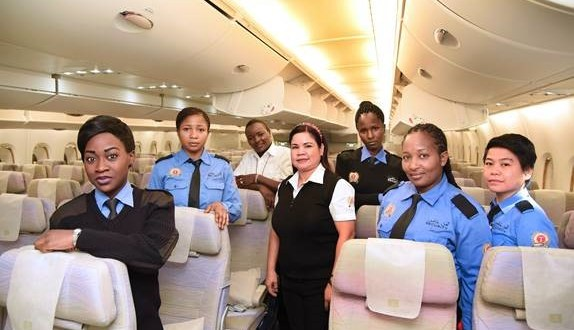 Group of Emirates Female Employees