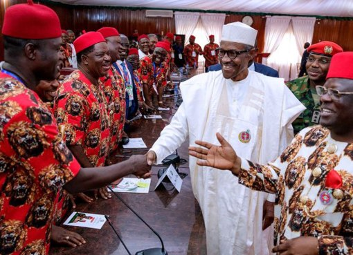 Buhari's visit to the South East