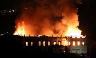 Fire Outbreak in Katsina