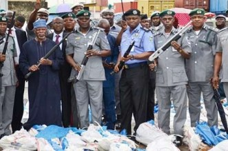 NCS Intercepts Police Uniforms