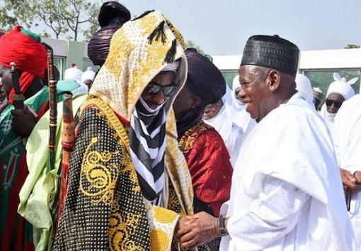 Dangote, Fayemi Rescue Emir Sanusi