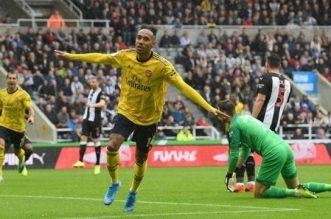 Aubameyang Lifts Arsenal at St. James' Park