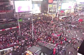 Time Square Stampede