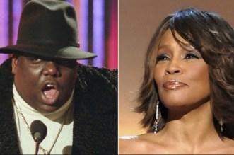 BIG and Whitney Houston