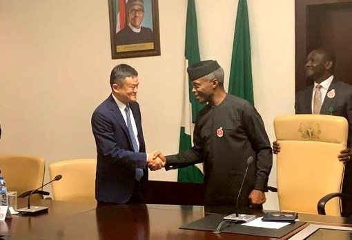 Jack Ma in Nigeria