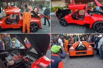 Nigerian made Sport Car