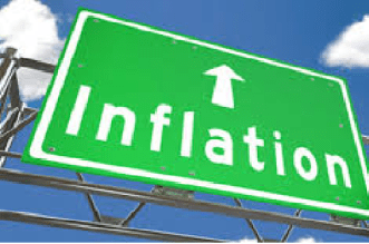 Rise in inflation