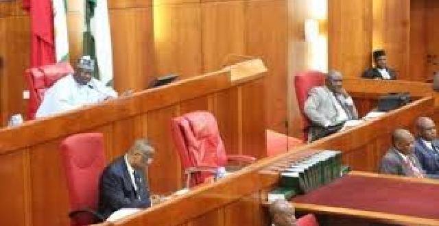 Senate Holds Closed Door Session