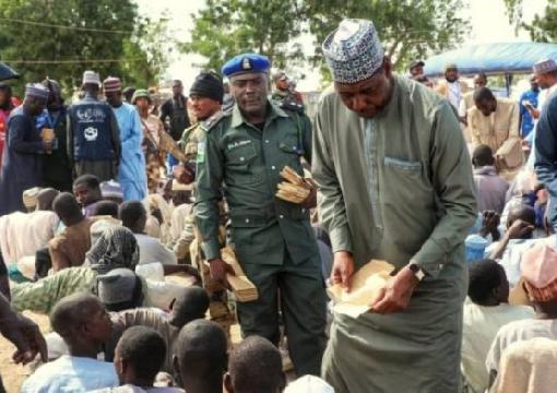 Borno Govt. Supervises Distribution of Cash