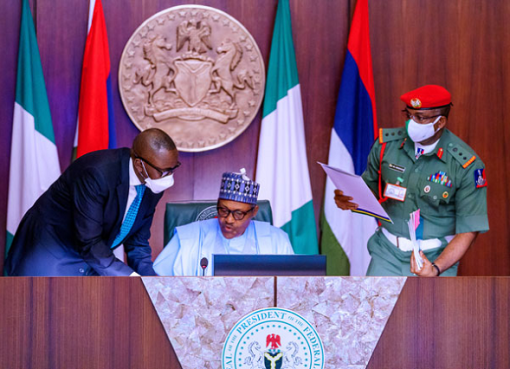 Buhari Restates His Commitment To Securing Safety of Nigerians