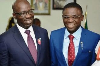 Obaseki Picks Deputy Philip Shaibu