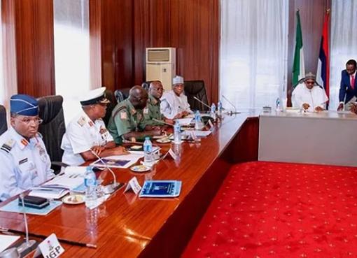 Buhari Warns Security Chief