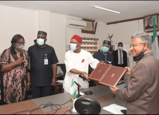 Nigeria Signs MoU with India