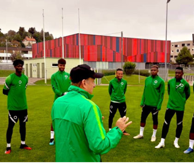 Super Eagles Holds First Training