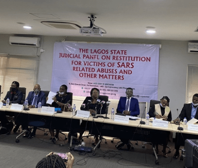 #EndSARS: Lagos Judicial Panel Issues ₦16.25 million Cheque To 4 Petitioners