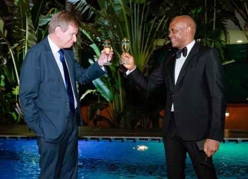 Belgium Confers Highest National Honour On Tony Elumelu