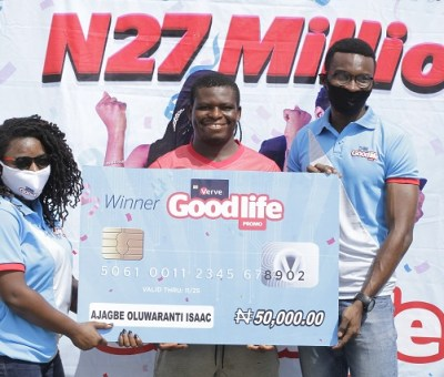 Verve Rewards 1,250 Customers In 'Good Life' Promo