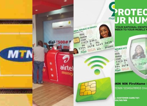 Easy Way To Know If NIN Is Successfully Linked To Your 9mobile, Airtel, MTN, Glo