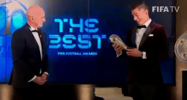 Lewandoski Beats Messi, Ronaldo To Clinch Best FIFA Men's Player of the Year Award