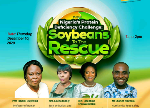 Protein Deficiency: Experts Task Nigerians On Regular Consumption of Soybeans
