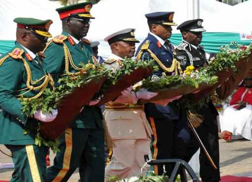 Armed Forces Remembrance Day: Buhari Vows To End Insecurity In 2021