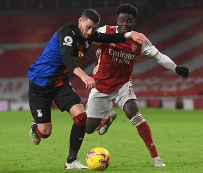 EPL: Crystal Palace Splits Points With Arsenal Emirates Stadium