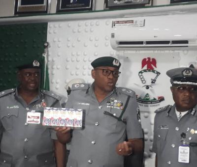 NCS Apapa Command Reveue Hits ₦518 billion