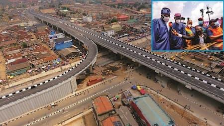Ambode Left Agege Bridge At 20% Completion - Sanwo-Olu