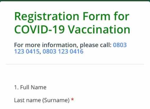 How To Apply, Qualify For COVID-19 Vaccine In Nigeria