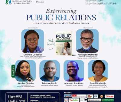 """""""Experiencing Public Relations Book Is Our Contribution To The Body Of Knowledge In Public Relations"""" - Olorundero"""