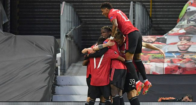 Man United Thrashes Roma In Europa League Semi-Final First Leg Tie