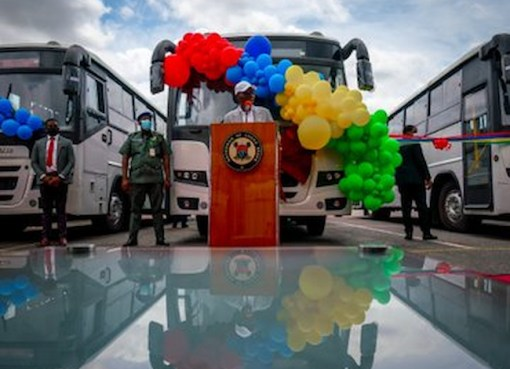 Sanwo-Olu Launches 500 First, Last Mile Buses