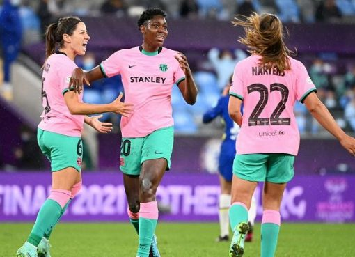 Oshoala Becomes First African Female To Win Women's Champions League Title