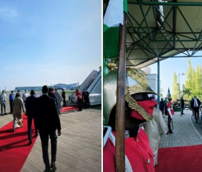 Buhari In Lagos To Commission Projects