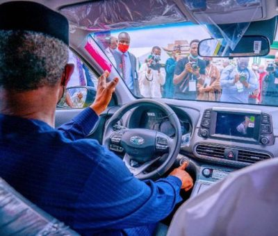 Electric Car Assembled In Nigeria, Fantastic Innovation, Says Osinbajo