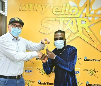 Winner of MTN Nigeria's Music Competition Receives Keys to New Home