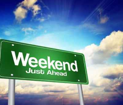 5 Ways To Enjoy Your Weekend