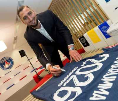 Gianluigi Donnarumma Signs 5-year Deal With PSG