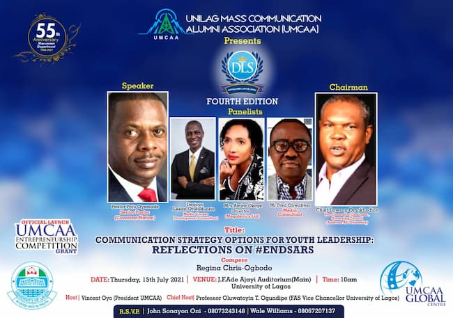 UNILAG: UMCAA Hosts 4th Lecture Series, Launches Entrepreneurial Competition