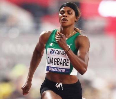 Olympics: Blessing Okagbare Suspended For Failing Doping Test