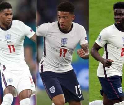 Euro 2020: Rashford, Sancho, Saka Face Racism After Defeat