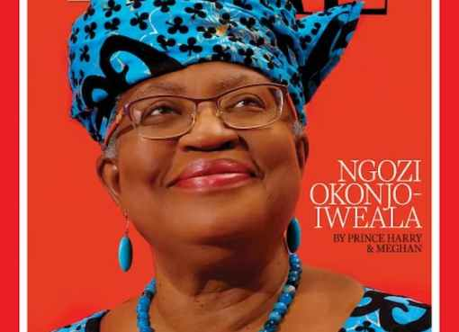 Okonjo-Iweala Among Time's List For 100 Most Influential People