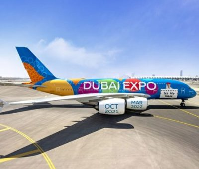 Emirates Takes Expo 2020 Dubai's Message To The Skies With Its First-ever Full Aircraft Livery