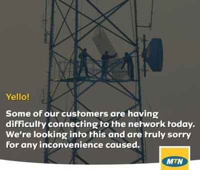 MTN Fully Restores Its Services