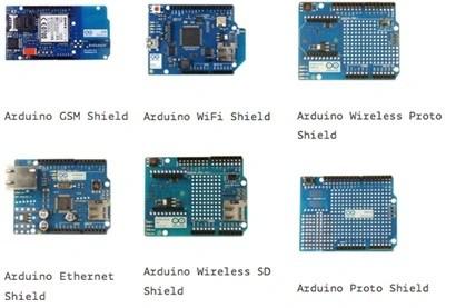 một số shield thông dụng cho arduino